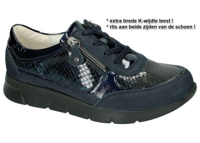 Damesschoenen Waldlaufer SNEAKERS  661003 K-JENNY Blauw Donker