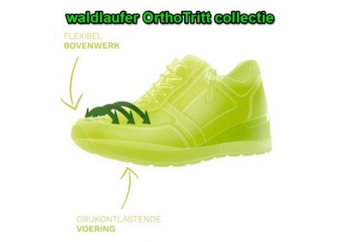 Waldlaufer 760H02 305 001 H-ROSA ORTHOTRITT sneakers  zwart