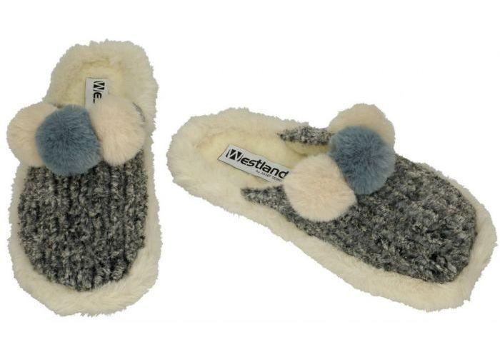 Westland 28105 Lille 105 pantoffels grijs  donker