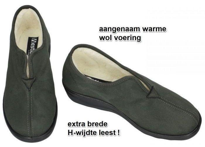 Westland 28958 NICE 58 pantoffels grijs  donker