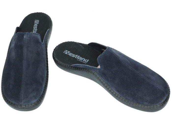 Westland 20603 MONACO 203 pantoffels & slippers blauw donker