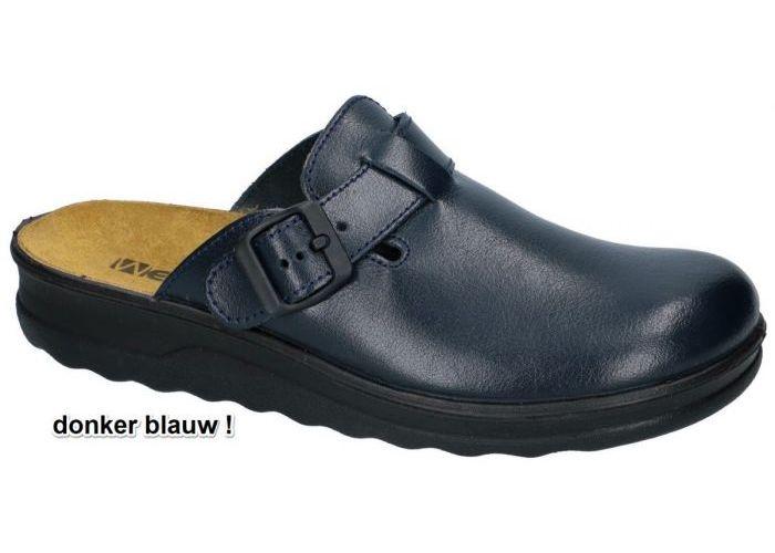 Herenschoenen Westland PANTOFFELS & SLIPPERS 26265 METZ 265 Blauw Donker