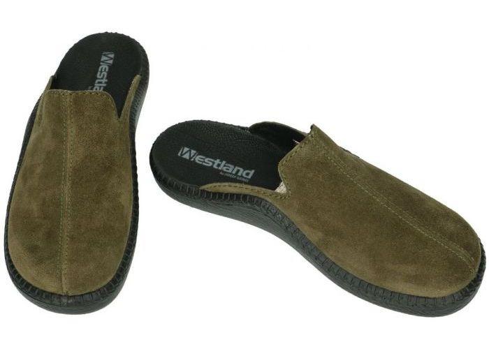 Westland 20603 MONACO 203 pantoffels & slippers groen olijf