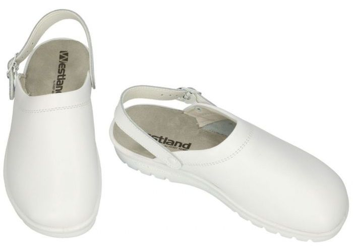 Westland 31311 METZ 311 G pantoffels wit