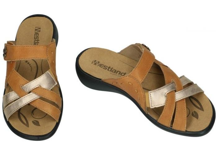 Westland 16799 IBIZA 99 slippers & muiltjes cognac/caramel
