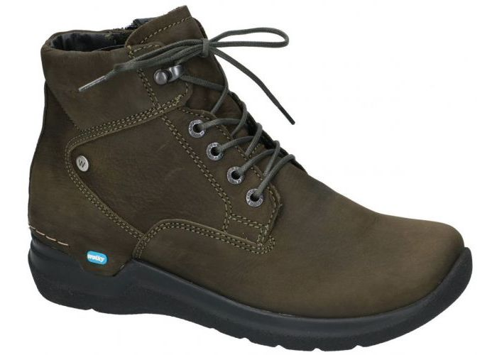 Damesschoenen Wolky BOTTINES 0661216 WHYNOT Oiled nubuck Taupe Donker