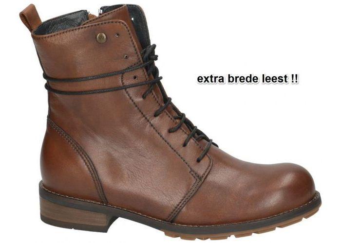 Damesschoenen Wolky ENKELLAARZEN 0444420 Murray XW Velvet Leather Cognac/caramel