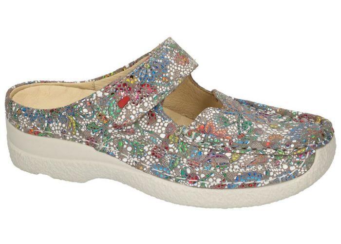 Damesschoenen Wolky SLIPPERS & MUILTJES 0622742 ROLL SLIPPER Multicolor