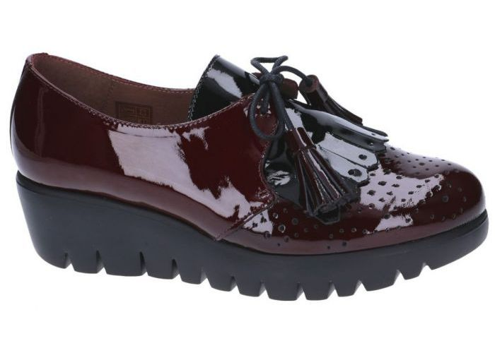 Damesschoenen Wonders MOCASSINS - LOAFERS C-3384 Bordeaux