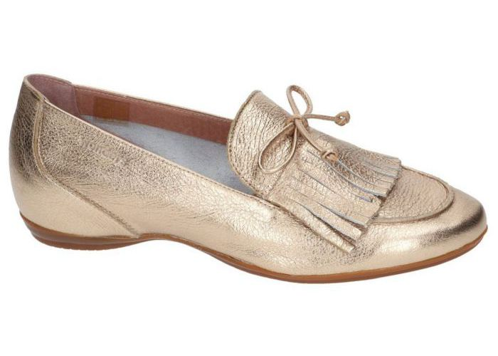Damesschoenen Wonders MOCASSINS - LOAFERS A-3091 Goud