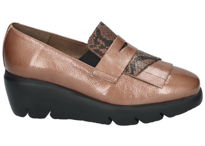 Wonders 10146 mocassins - loafers taupe