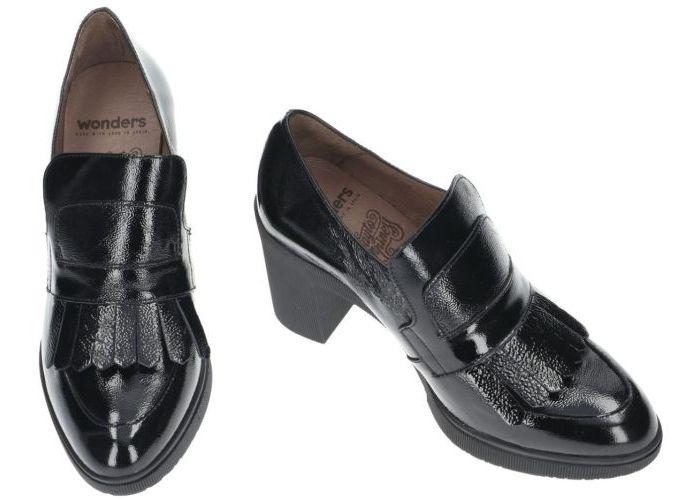 Wonders M-3704 pumps & hakschoenen zwart