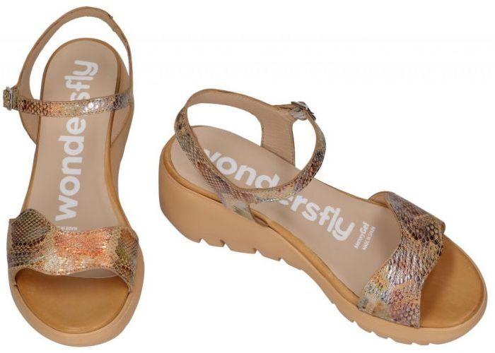 Wonders D-9002 sandalen beige