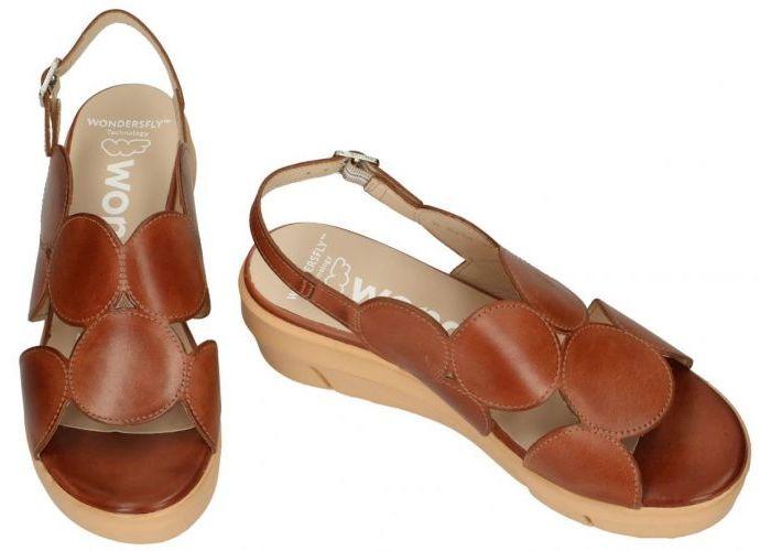Wonders D-8210 sandalen bruin