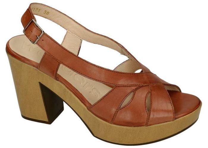 Wonders L-9171 sandalen bruin