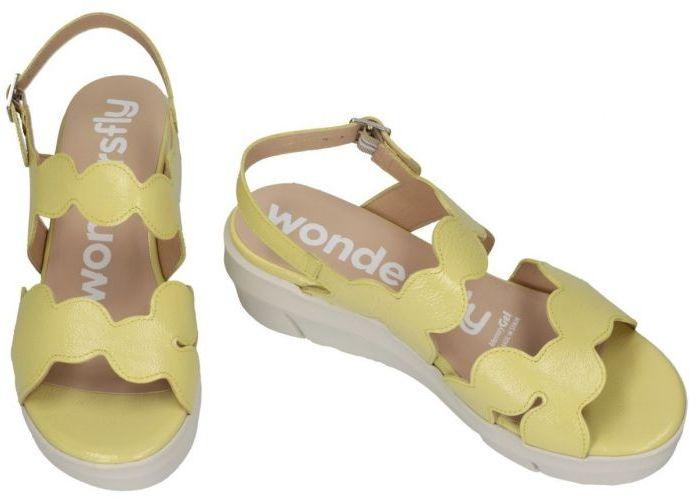 Wonders D-8232 sandalen geel