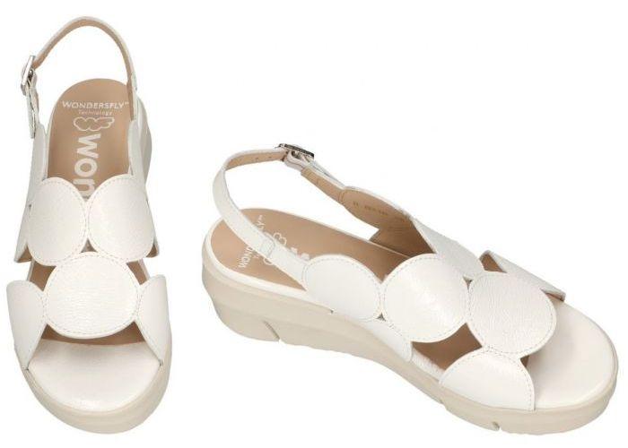 Wonders D-8210 sandalen wit