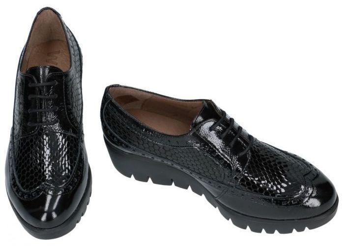 Wonders C-33227 lage gesloten schoenen zwart
