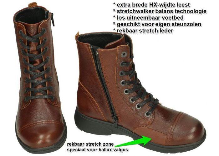 Xsensible RIGA - 30203.3.330 HX laarzen bruin