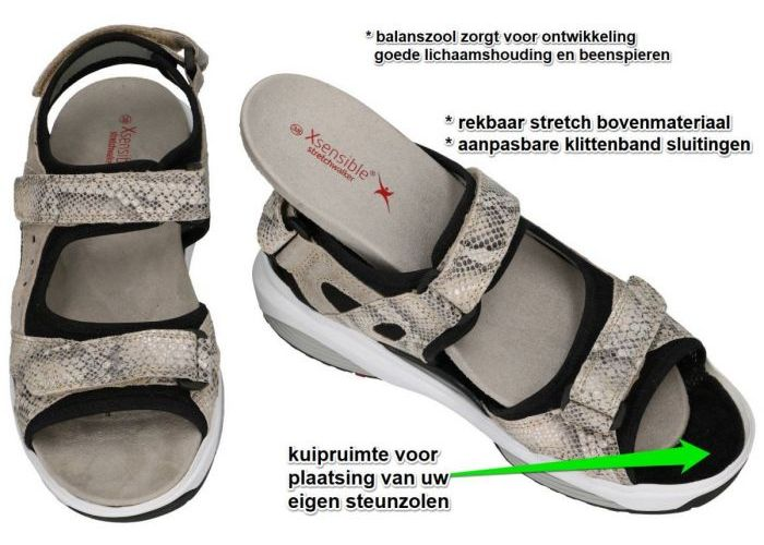 Xsensible 30050.1.427 (G) CHIOS  sandalen beige