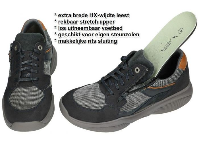 Xsensible SWX14  30088.1.291 HX sneakers blauw donker