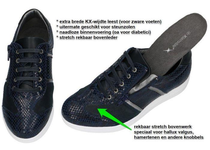 Xsensible 10193.2.235 (KX) FLORENCE sneakers  blauw donker