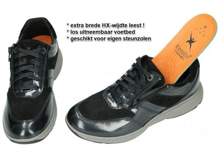 Xsensible TOKIO 30201.2.007 HX sneakers  zwart