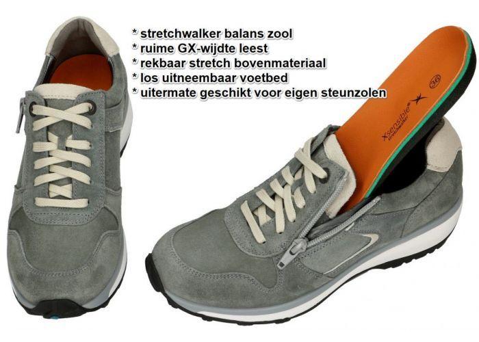 Xsensible JERSEY 30042.2.485 GX sneakers  groen olijf
