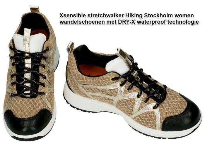 Xsensible 40202.5.406 STOCKHOLM WOMEN wandelschoenen beige