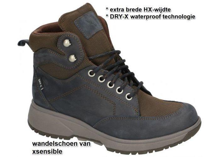 Damesschoenen Xsensible WANDELSCHOENEN SEATTLE WOMEN 40201.1.293 HX Blauw Donker