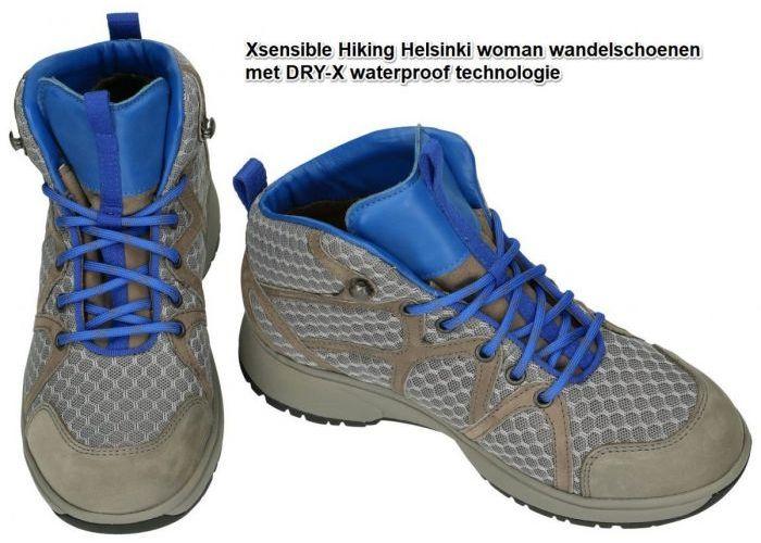 Xsensible 40205.5.890 HELSINKI WOMEN wandelschoenen grijs