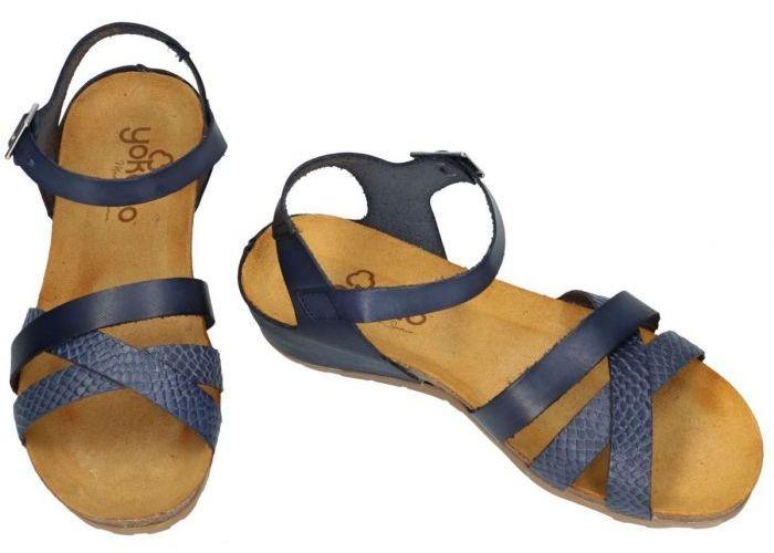 Yokono CAPRI-006 sandalen blauw donker