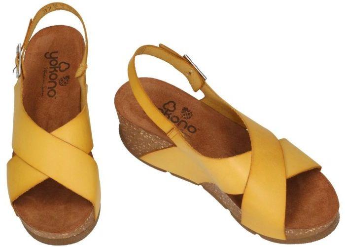 Yokono BARI-30 sandalen geel