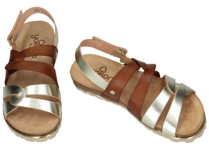 Yokono CHIPRE-148 sandalen goud