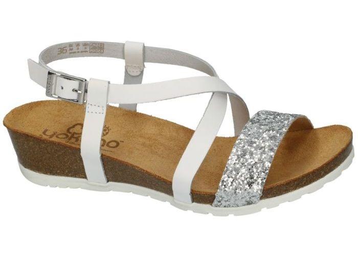 Yokono CAPRI-033 sandalen wit