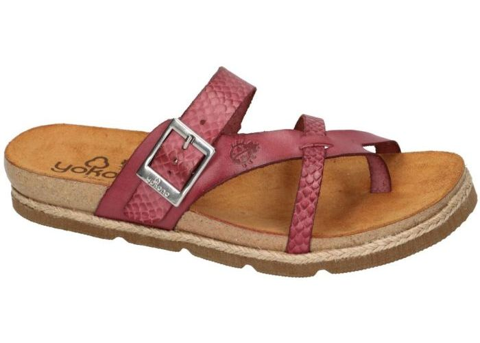 Damesschoenen Yokono SLIPPER - MUILTJE CHIPRE-101 Bordeaux