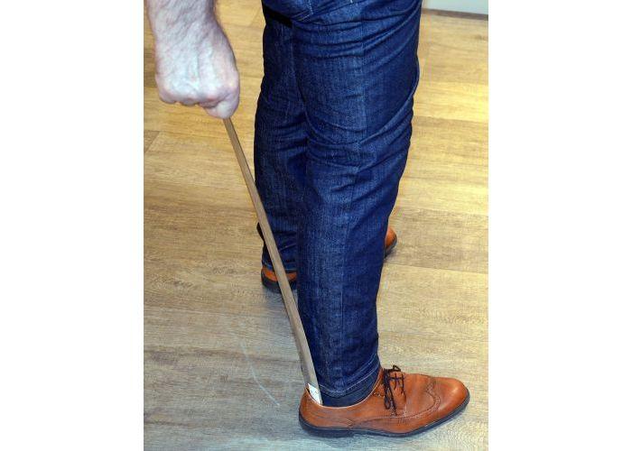 Frans Muller Schoenlepel nikkel 70 cm schoenlepels zilver