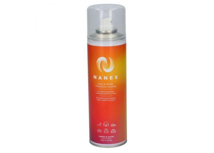 Nanex PROTECTIE VOCHT/VUIL Leder & Textiel bescherming 300ml Transparant