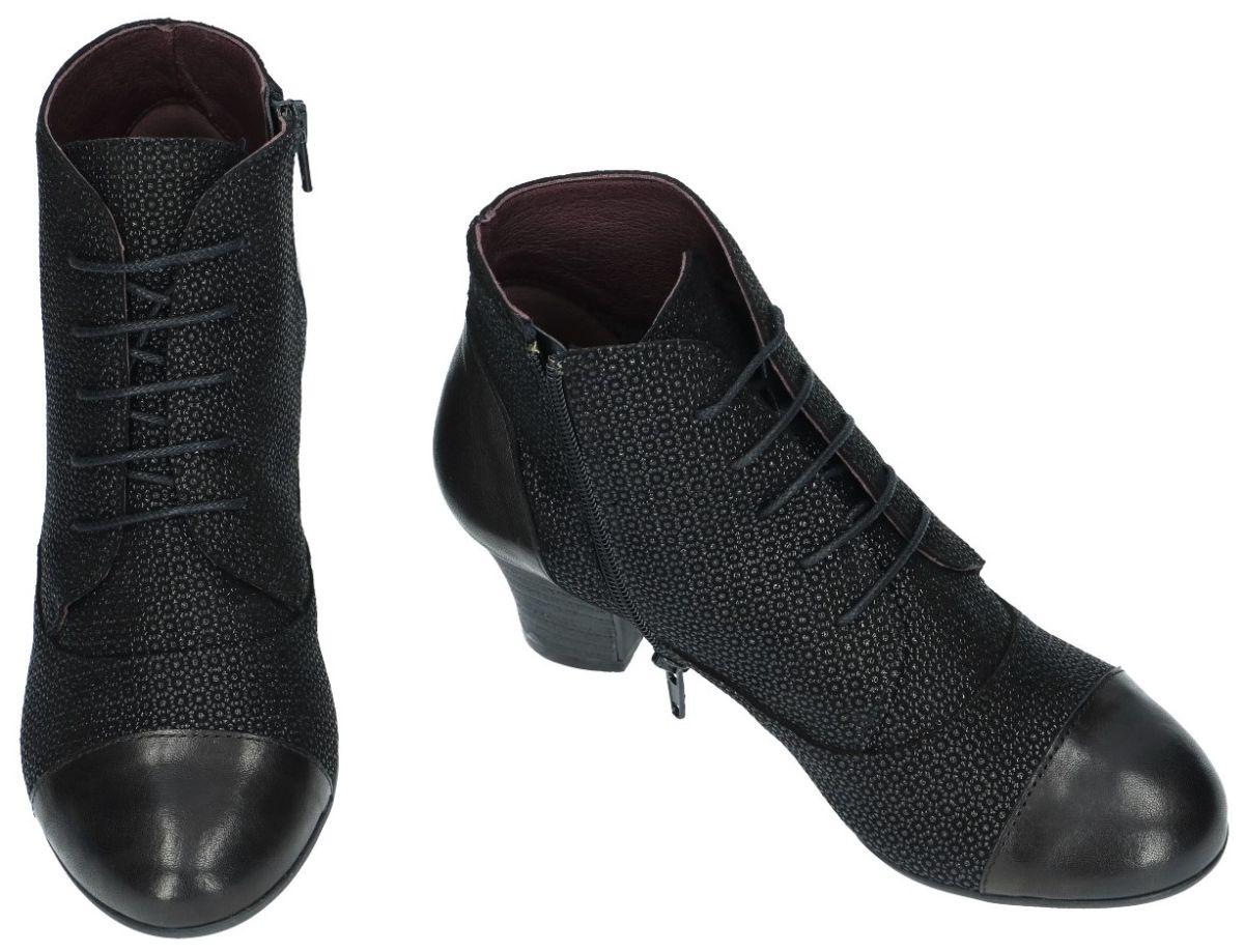 250f31b5a3a Brako 6902 enkellaarzen zwart - schoenen | Schoenen Karo