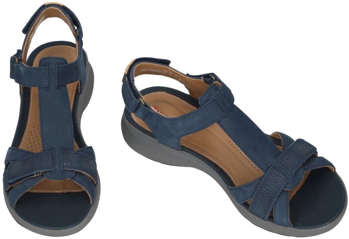 Clarks UN ADORN VIBE sandalen blauw donker schoenen