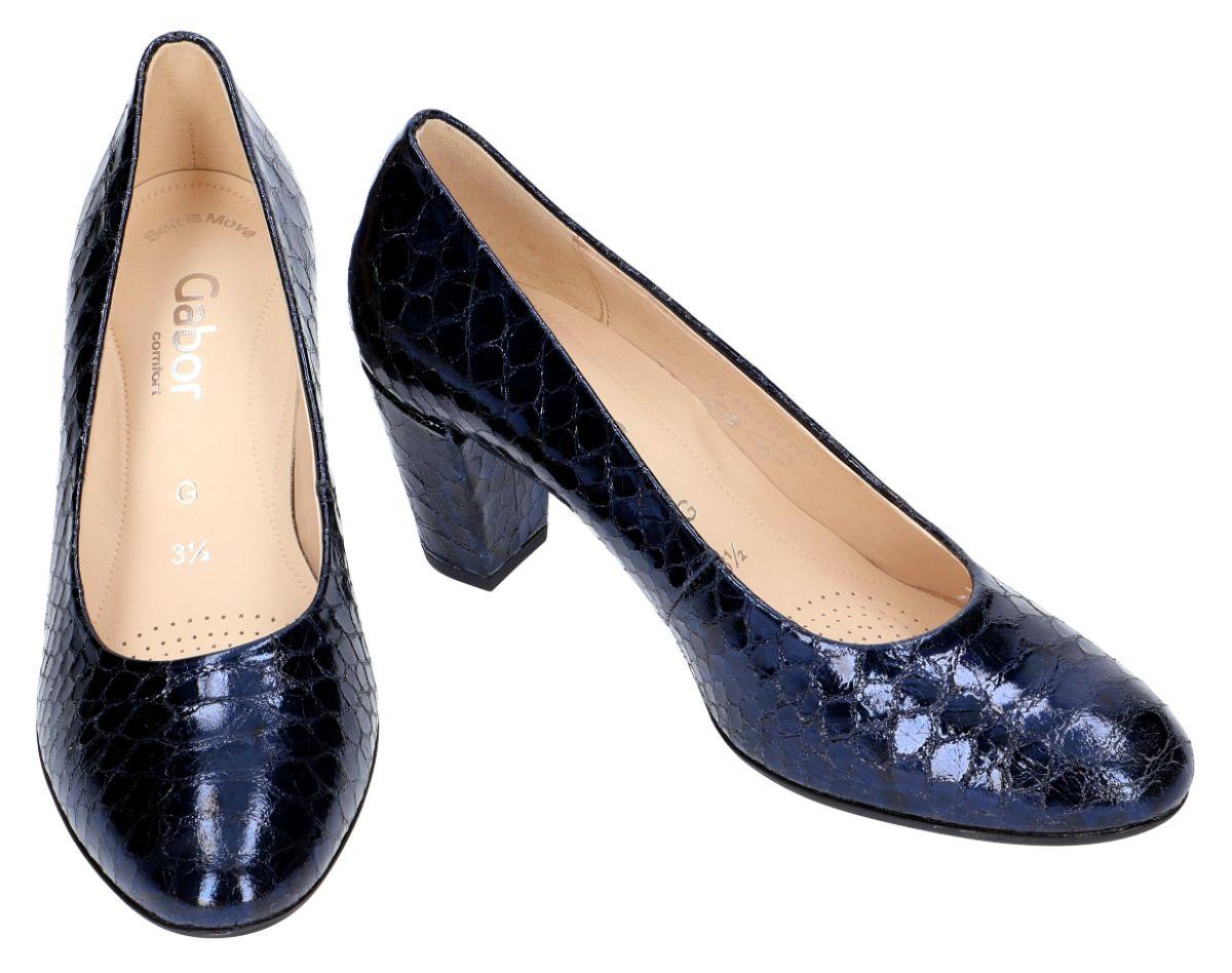 gabor pump blauw lak g damesschoenen online go25dd
