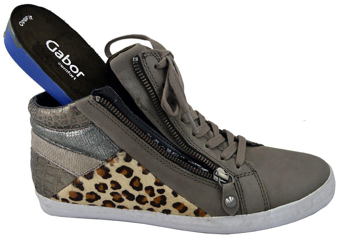 7895c5d06b6 Gabor 36.426.39 sneaker-sportief taupe - schoenen | Schoenen Karo