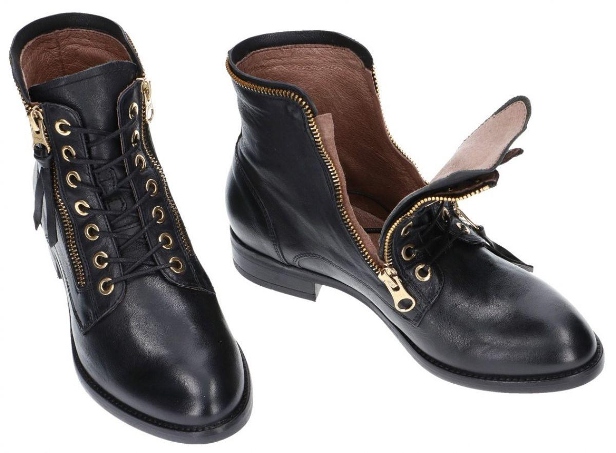 Nero Giardini A719433D bottines zwart - schoenen   Schoenen Karo dffee032df74