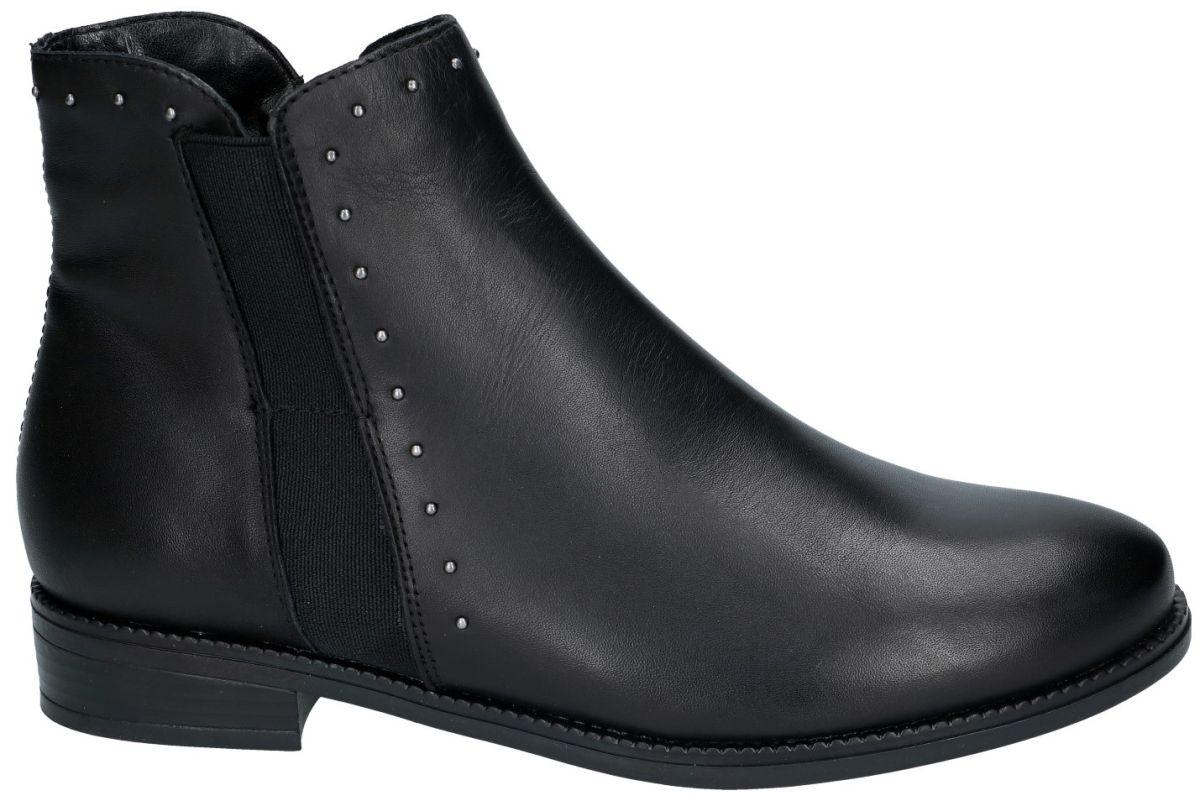 Remonte R6373 01 enkellaarzen zwart schoenen | Schoenen Karo